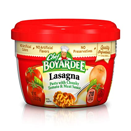 Chef Boyardee Lasagna Microwavable Bowl, 7.5 Oz