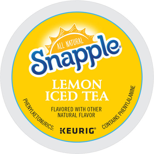 Lemon Iced Tea, Keurig K-Cup | Snapple®
