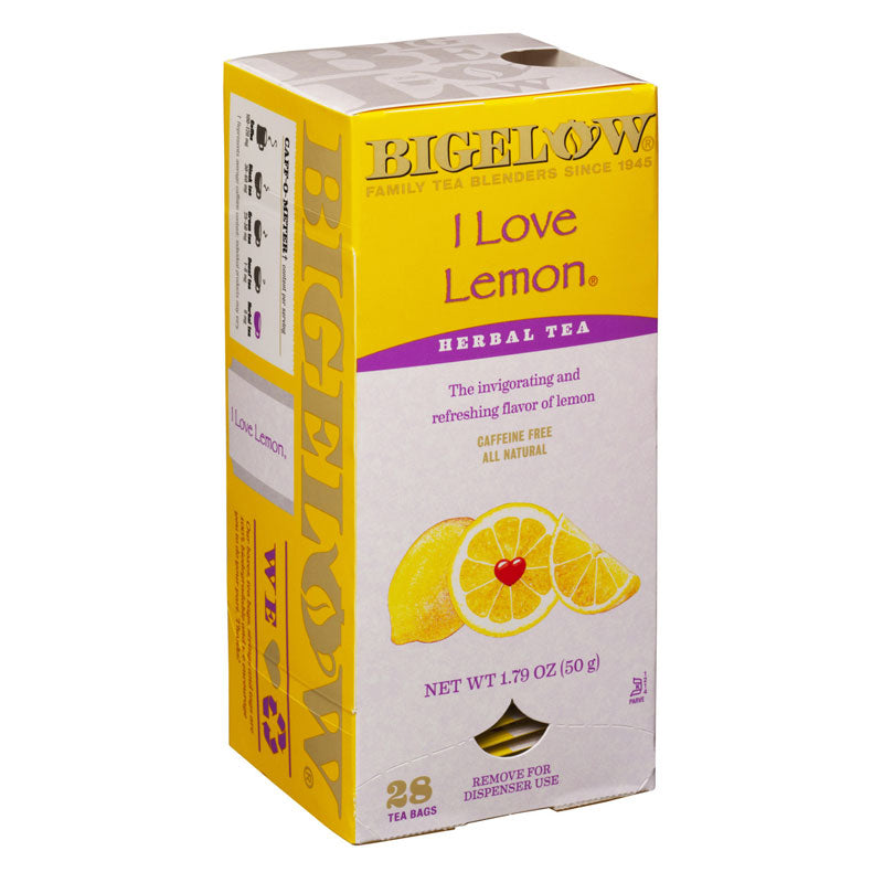 I Love Lemon® Herbal, 28 Tea Bags | Bigelow Tea