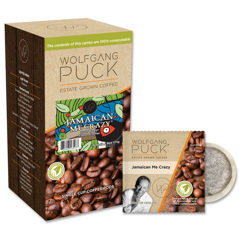 Wolfgang Puck Jamaican Me Crazy® Coffee Pods