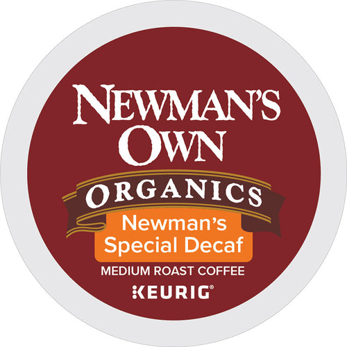 Newman's Special Decaf Coffee, K-Cup, Keurig | Newman's Own® Organics