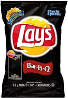 Frito Lay BBQ Chips 104/1oz bags per case