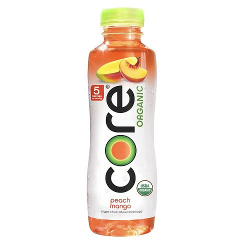 Core Organic Peach Mango 12-18oz bottles per case