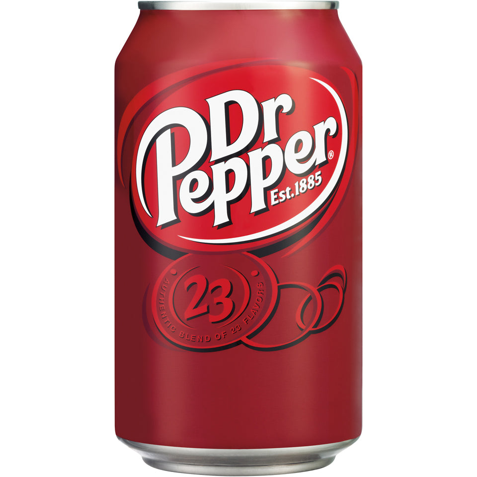 Dr. Pepper 24-12oz cans per case