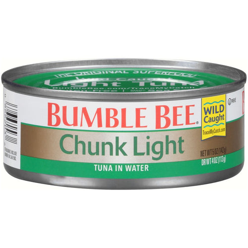 Bumble Bee® Chunk Light Tuna in Water 5 oz. Can