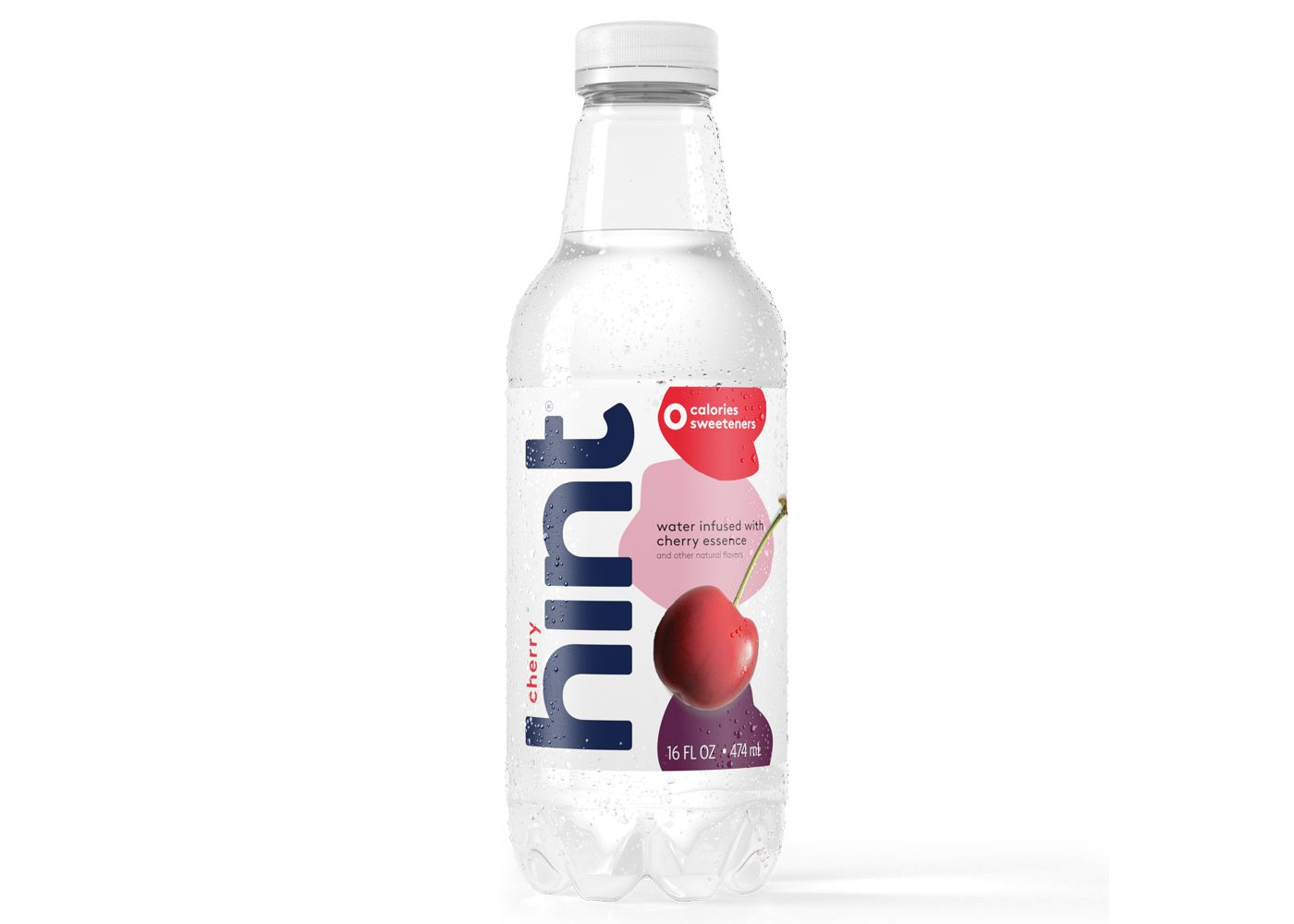 Hint Water Cherry 12/16oz