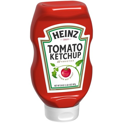 Heinz Ketchup Squeezed 20oz