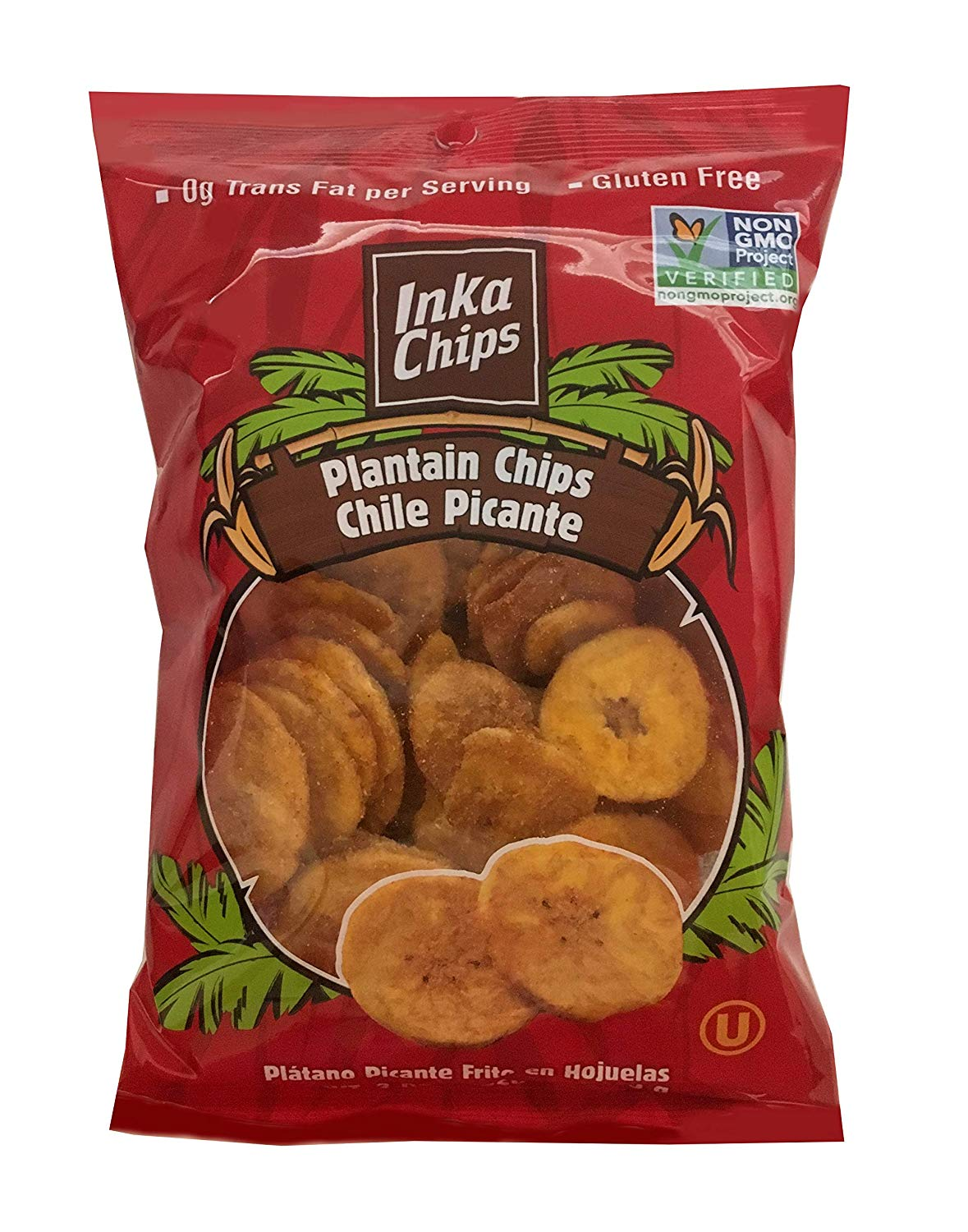 Inka Chile Picante Plaintain Chips 24/1.41oz Bags