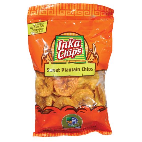 Inka Sweet Plantain Chips 24/1.41oz bags