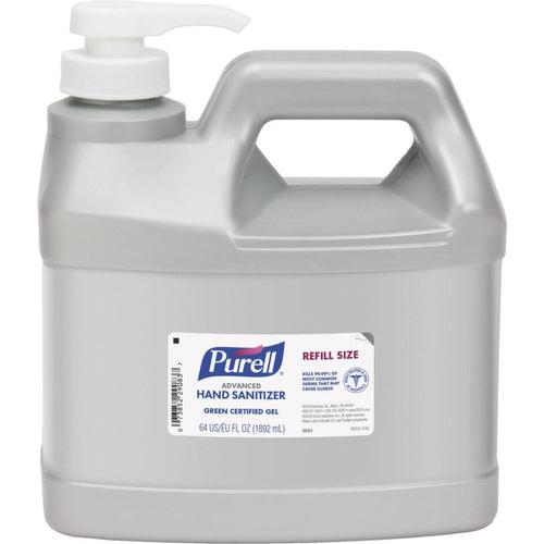 Purell 64 Oz. Advanced Instant Hand Sanitizer Gel Pump