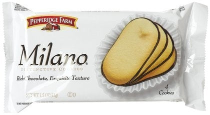 Pepperidge Farms Milano Cookies 1.5oz Packs