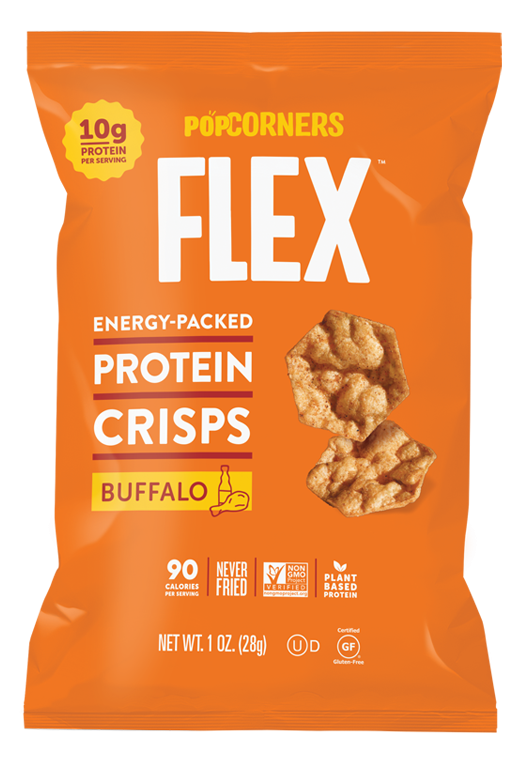 Popcorners Flex Buffalo 24- 1oz bags