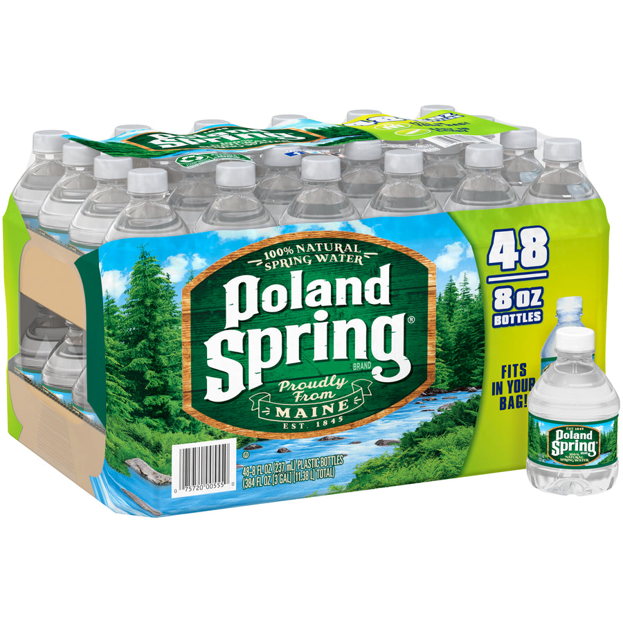 Poland Spring 48/8oz Bottles