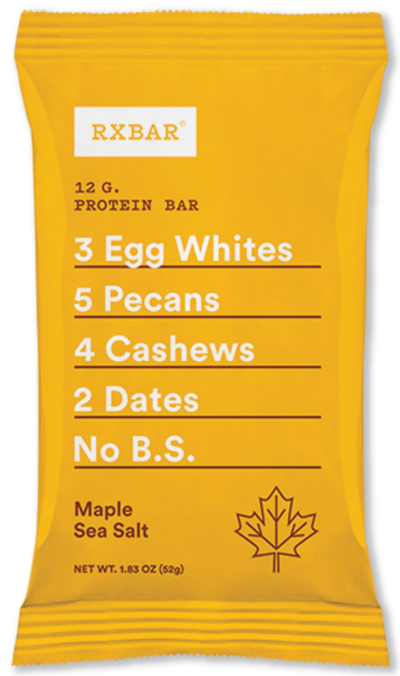 RXBar Maple Sea Salt 12/1.83oz Bars