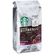 Starbucks Espresso Whole Beans 1lb Bag