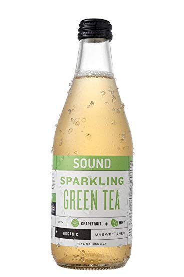 Sound Sparkling Green Tea 24-12oz bottles per case