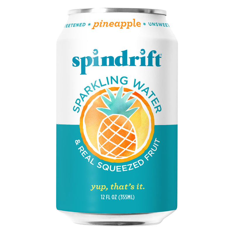 Spindrift Pineapple 24/12oz Can