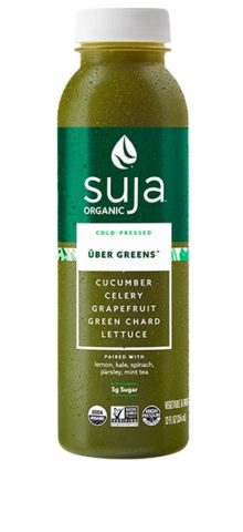 Suja Cold Pressed Uber Greens Juice 6-12oz per case