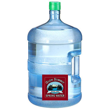 Glen Summit Spring Water 5 Gallon