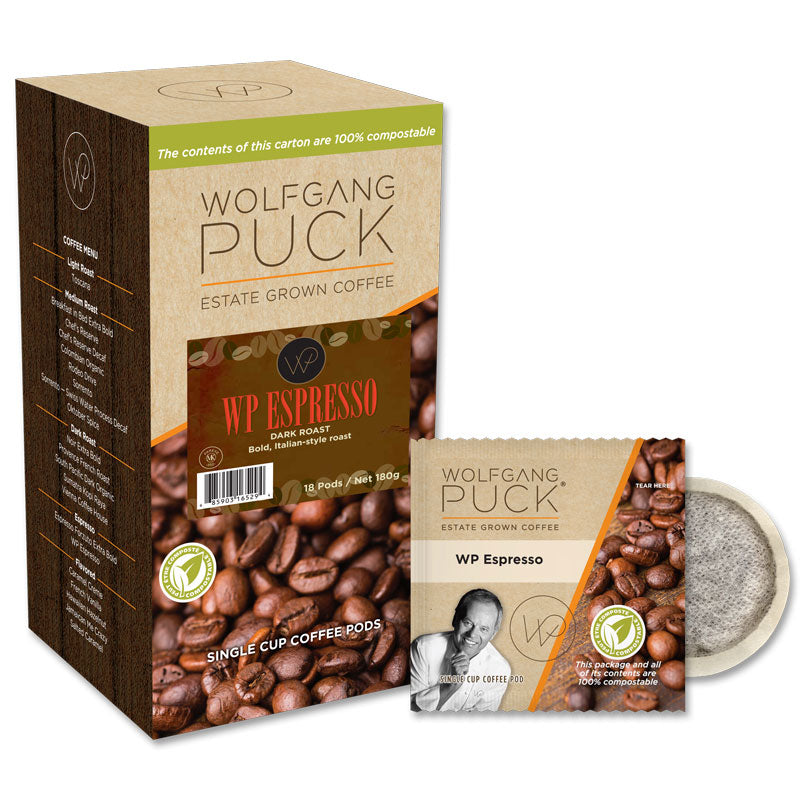 WP Espresso, Coffee Pods | Wolfgang Puck