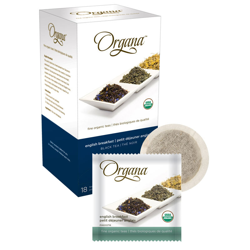 English Breakfast, Tea Pods | Organa™