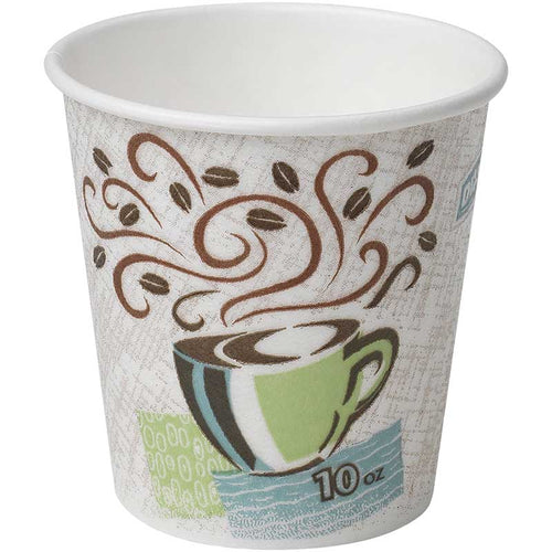 Dixie® PerfecTouch® 10 oz. Insulated Paper Cups, 50 Cup Sleeve | Dixie®