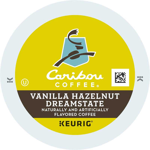 Vanilla Hazelnut Dreamstate Coffee K-Cup Pods, Flavored, Medium Roast, 100% Arabica | Caribou Coffee