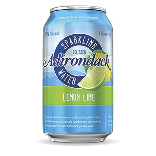 Adirondack Lemon-Lime Seltzer 24-12oz cans per case
