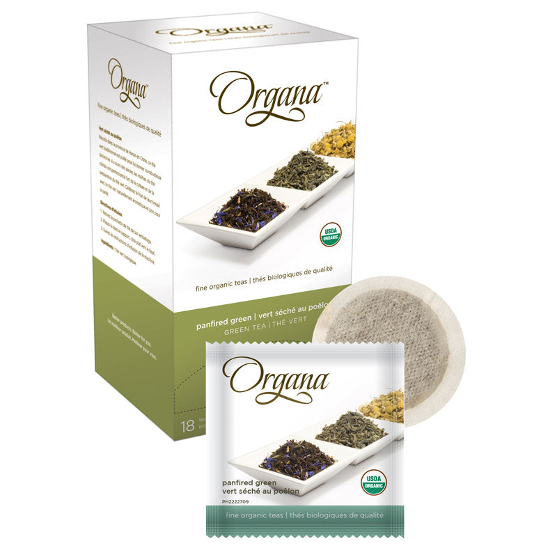 Panfired Green Tea, Tea Pods | Organa™
