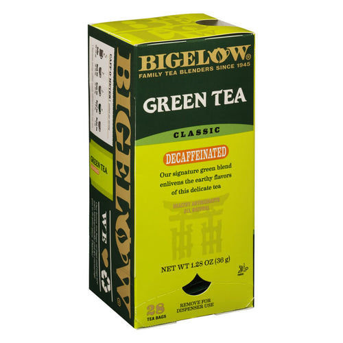 Green Tea Decaffeinated, Bagged Teas | Bigelow Tea