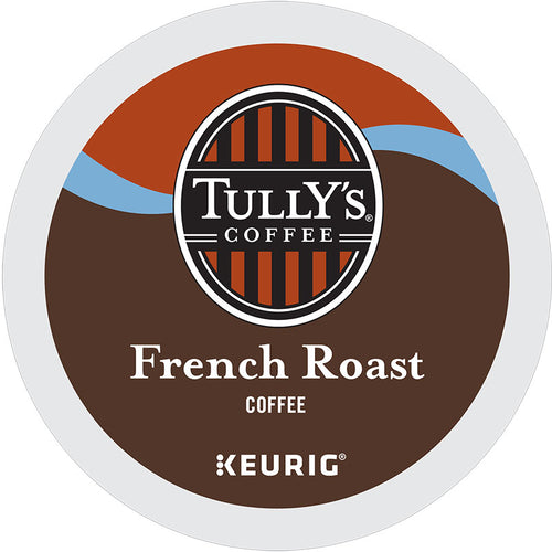 French Roast Coffee, K-Cup, Keurig | Tully's® Coffee