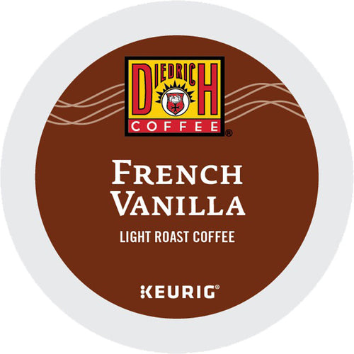 French Vanilla K-Cup Pods, Light Roast, Kosher | Diedrich Coffee