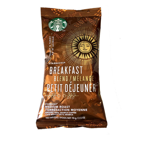 Breakfast Blend Ground Coffee Portion Packs | Starbucks®