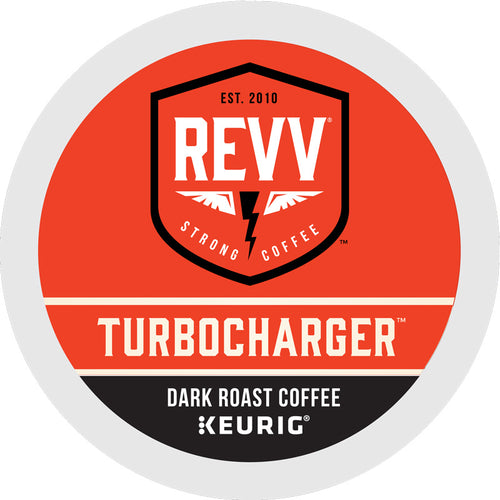 Turbocharger K-Cup Coffee, Dark Roast, 24 K-Cup Pods | Revv