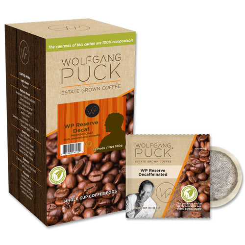 Wolfgang Puck WP Reserve Decaf Coffee Pods