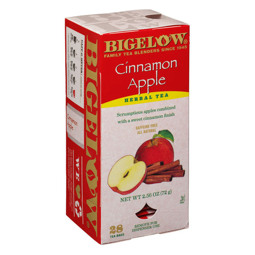 Cinnamon Apple Herbal Tea, Decaf, 28 Tea Bags | Bigelow Tea