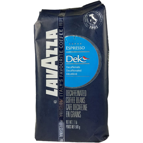 Espresso Dek, Decaf Espresso, Whole Coffee Beans | Lavazza