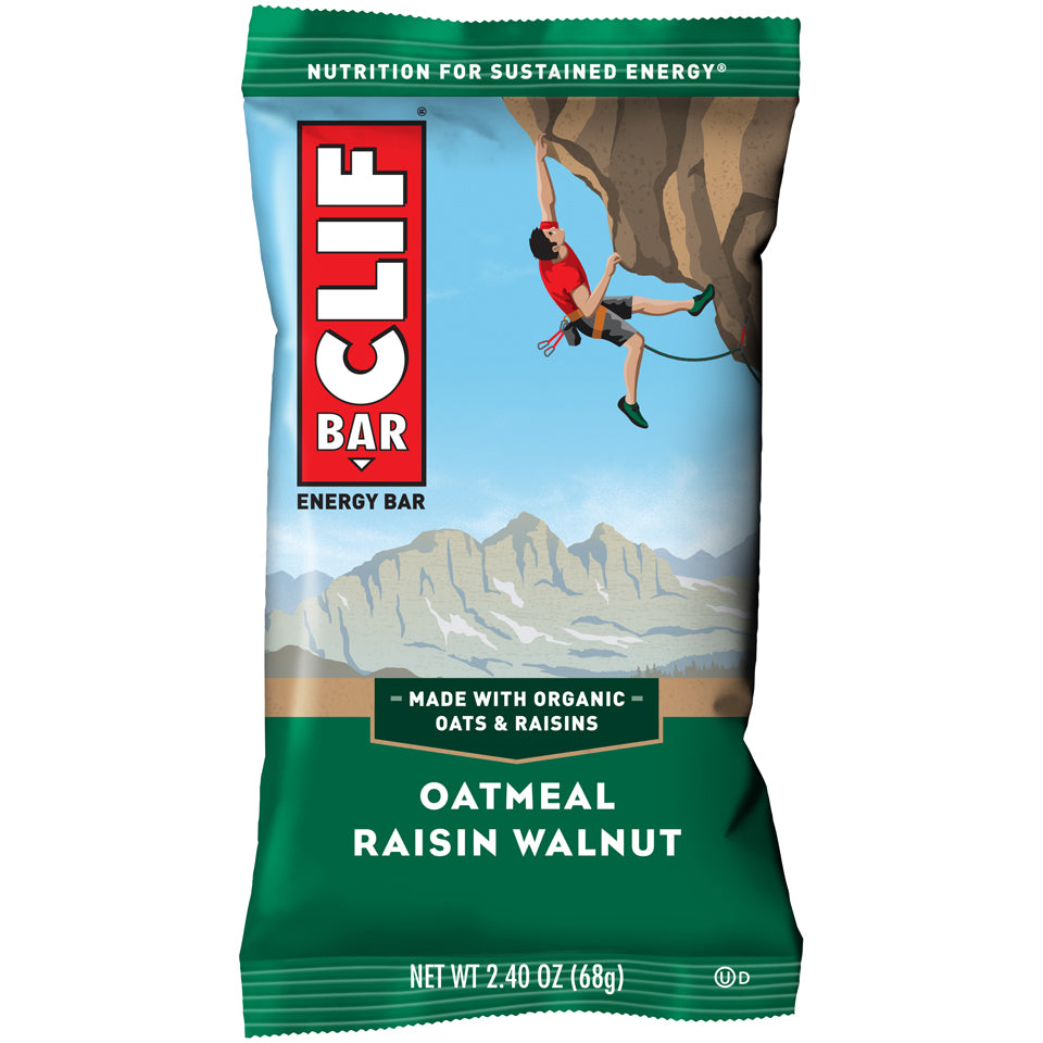 Clif Bar Oatmeal Walnut Raisin 12 bars per case
