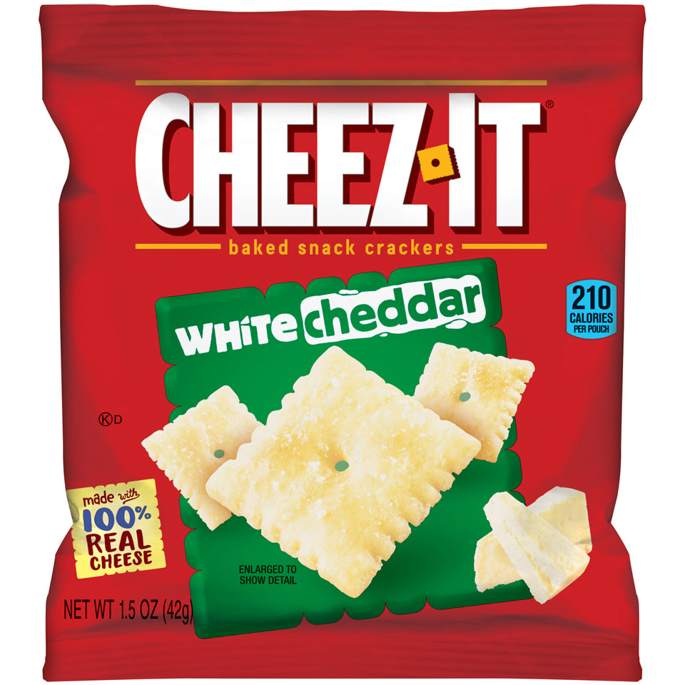 Cheez-It Crackers White Cheddar - 60/1.5oz Bags