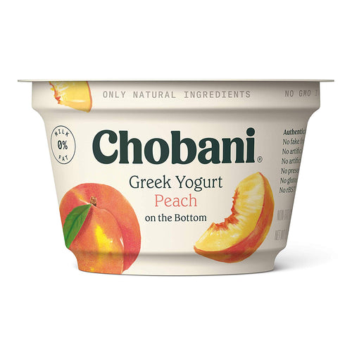 Chobani Peach Yogurt 5.3oz