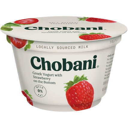 Chobani Strawberry Yogurt 5.3oz