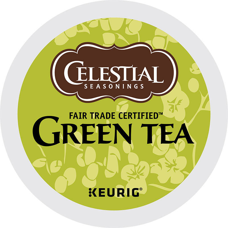 Natural Antioxidant Green Tea, K-Cup, Keurig | Celestial Seasonings®