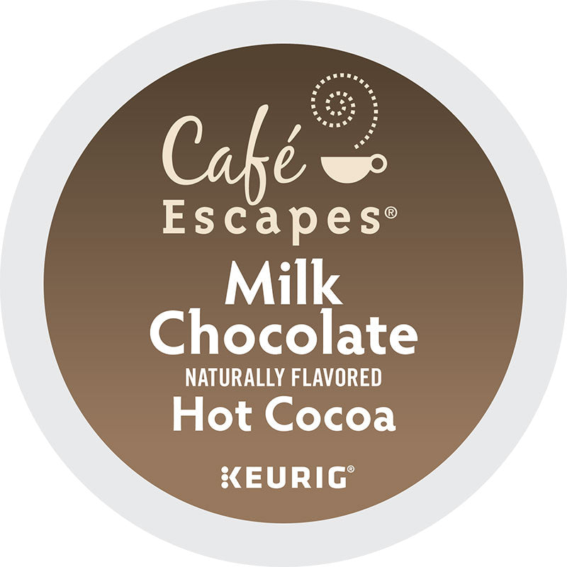 Milk Chocolate, Hot Cocoa | Café Escapes