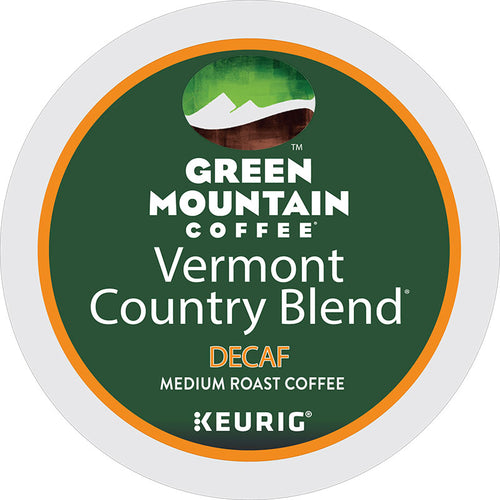 Vermont Country Blend® Decaf Coffee, K-Cup Pod | Green Mountain Coffee®