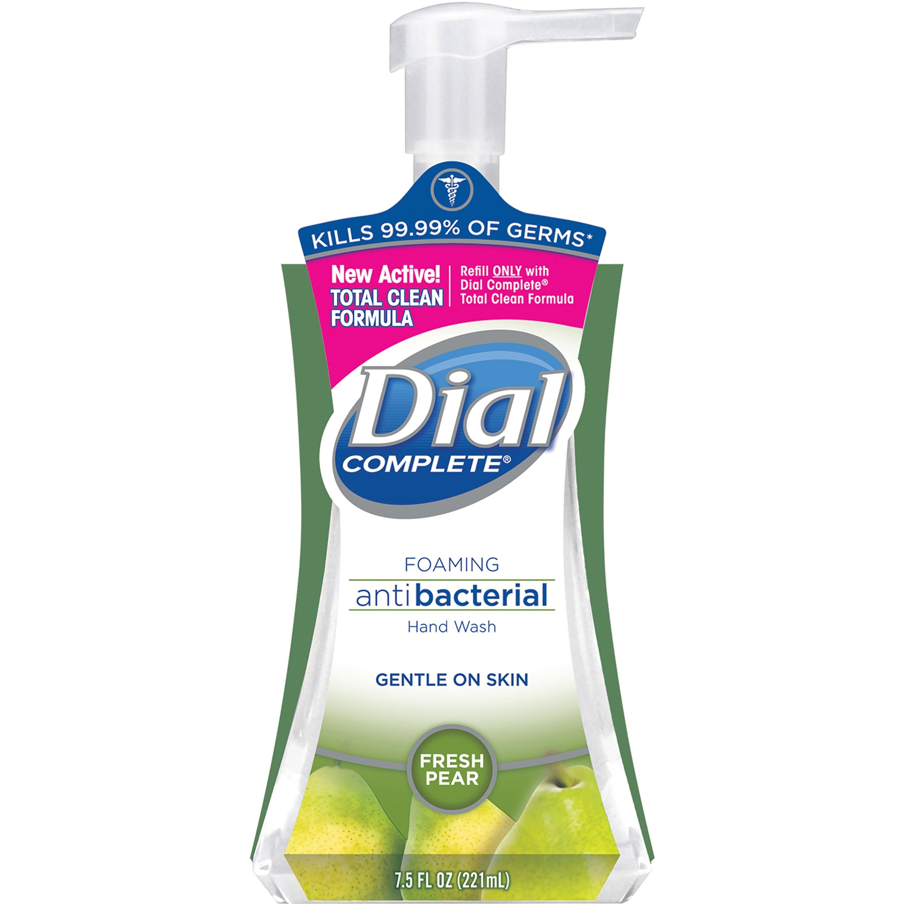Dial Antibacterial Foaming Fresh Pear Hand Soap 7.5oz