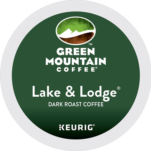 Lake & Lodge® Coffee, Dark Roast, K-Cup, Keurig | Green Mountain Coffee®