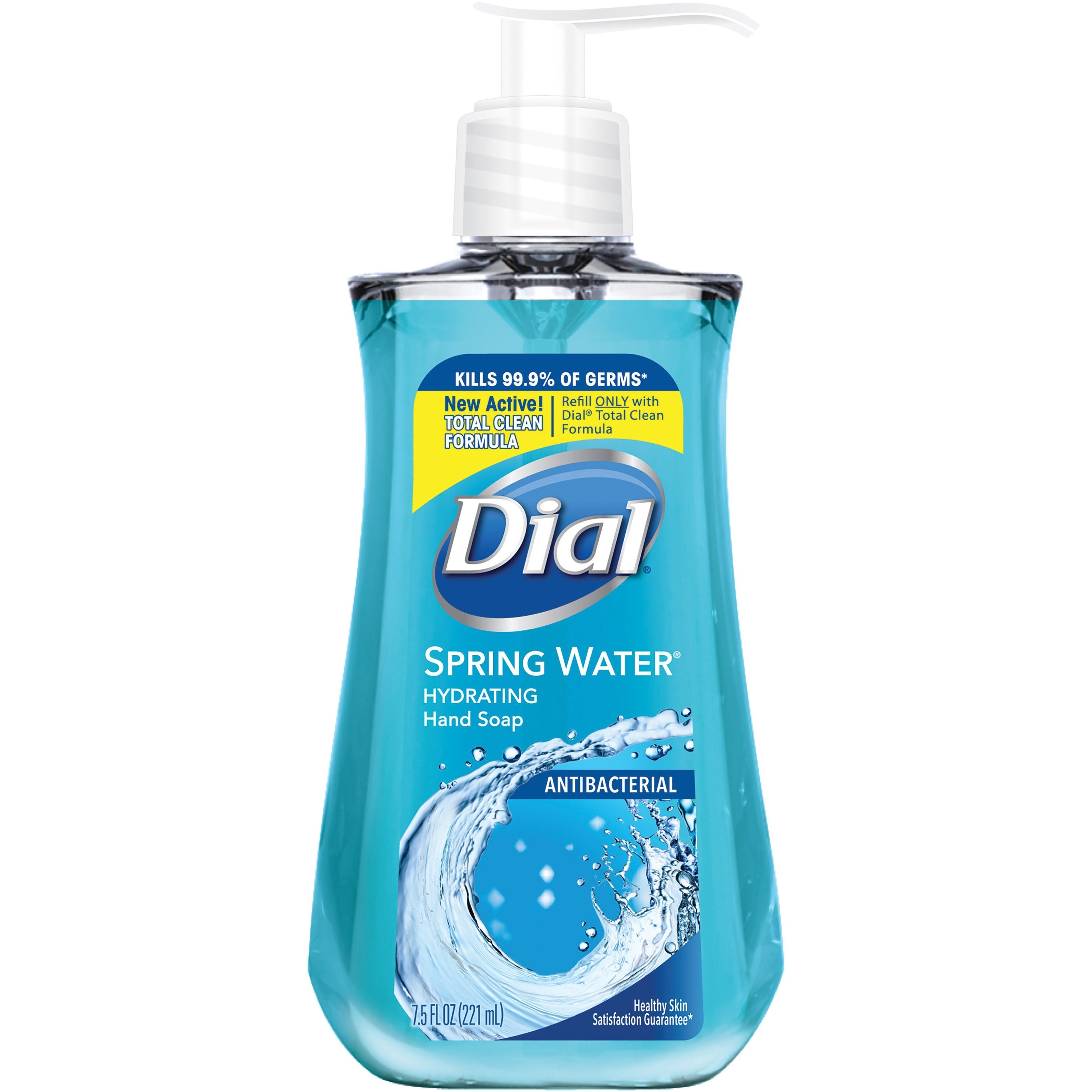 Dial Antibacterial Spring Water Liquid Hand Soap 7.5oz