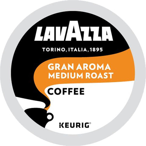 Lavazza Gran Aroma Coffee, Medium Roast, K-Cup Pods | Keurig Hot