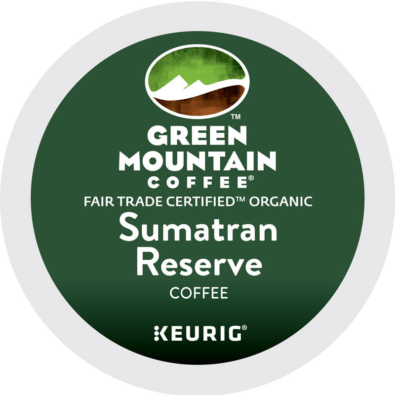 Sumatran Reserve Extra Bold Coffee K-Cup® Pods