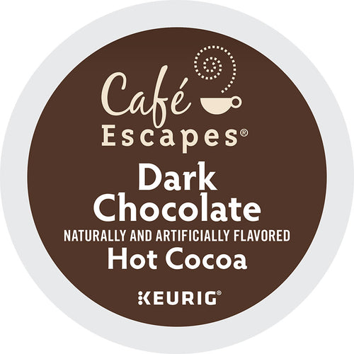 Dark Chocolate Hot Cocoa, K-Cup Pod | Café Escape
